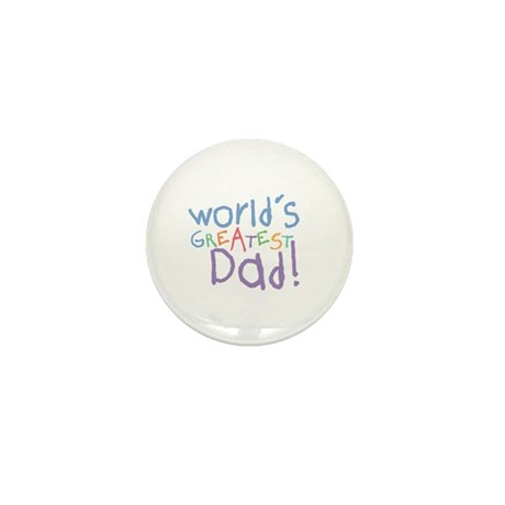 World's Greatest Dad Mini Button (100 pack)