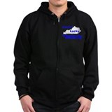 Getting Lucky In Kentucky Zip Hoody
