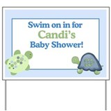 Turtle Reef Yard Sign - Candi's Baby Shower