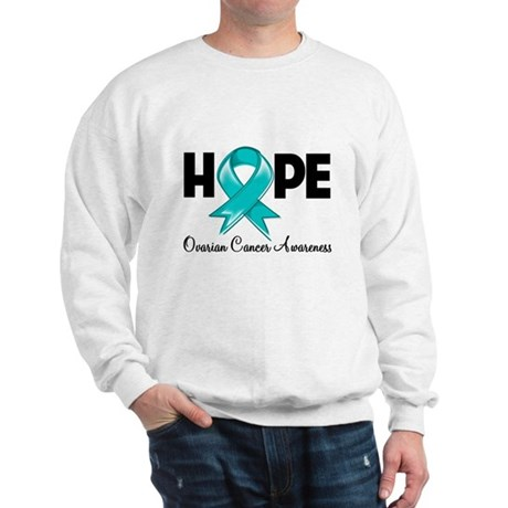 Hope Ovarian Cancer Sweatshirt