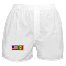 USA - Senegal Boxer Shorts