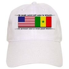 USA - Senegal Baseball Cap
