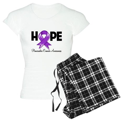 Hope Pancreatic Cancer Women's Light Pajamas