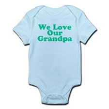 We Love Our Grandpa Infant Bodysuit