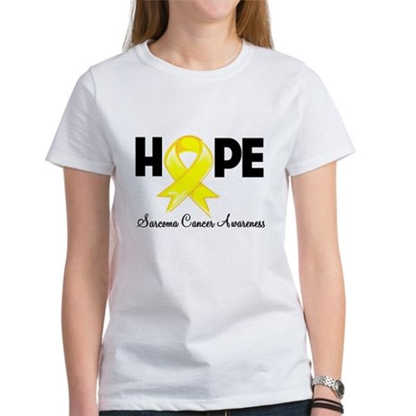 Hope Sarcoma Ribbon Women's T-Shirt
