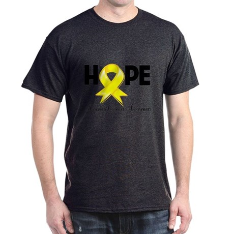Hope Sarcoma Ribbon Dark T-Shirt