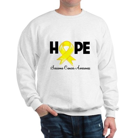 Hope Sarcoma Ribbon Sweatshirt