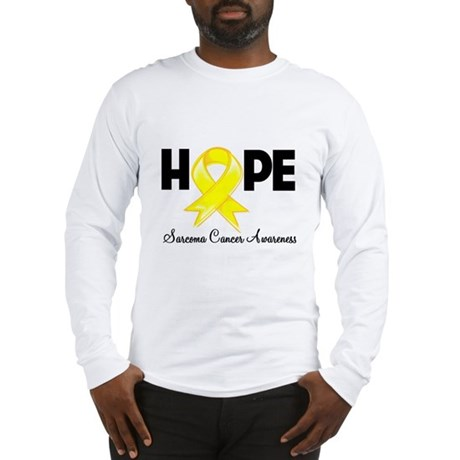Hope Sarcoma Ribbon Long Sleeve T-Shirt