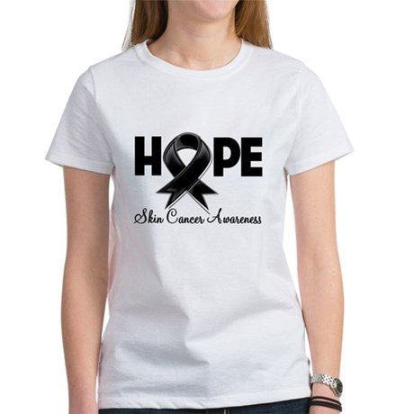 Hope Skin Cancer Women's T-Shirt