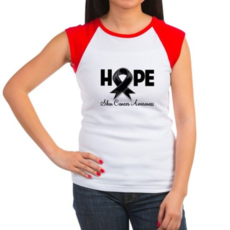 Hope Skin Cancer Women's Cap Sleeve T-Shirt