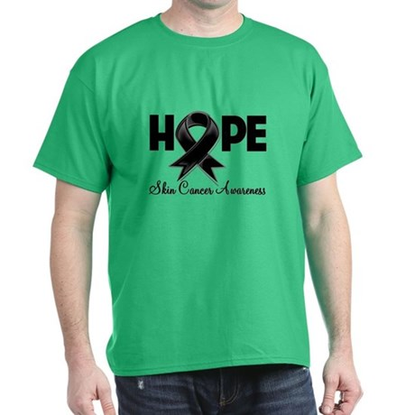 Hope Skin Cancer Dark T-Shirt