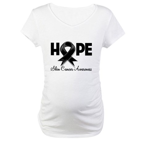 Hope Skin Cancer Maternity T-Shirt