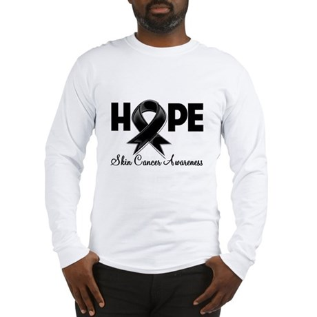 Hope Skin Cancer Long Sleeve T-Shirt