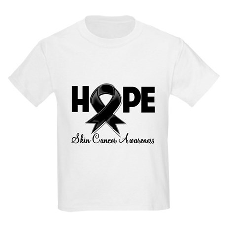 Hope Skin Cancer Kids Light T-Shirt