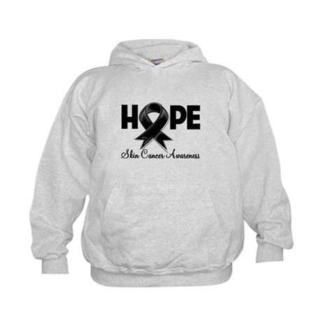 Hope Skin Cancer Kids Hoodie