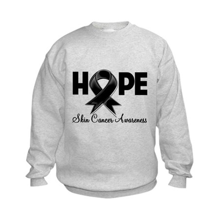 Hope Skin Cancer Kids Sweatshirt