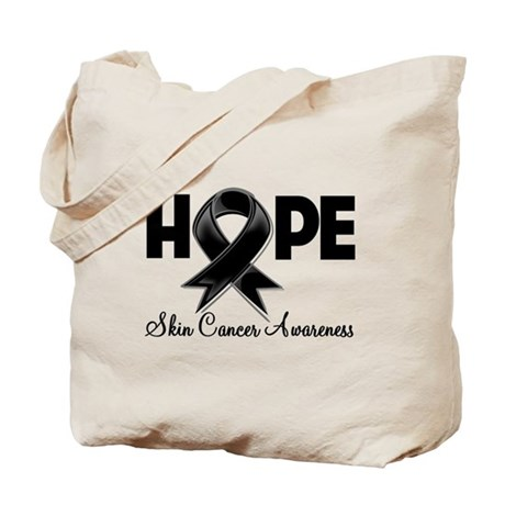 Hope Skin Cancer Tote Bag