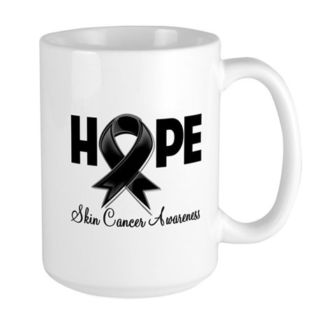 Hope Skin Cancer Large Mug