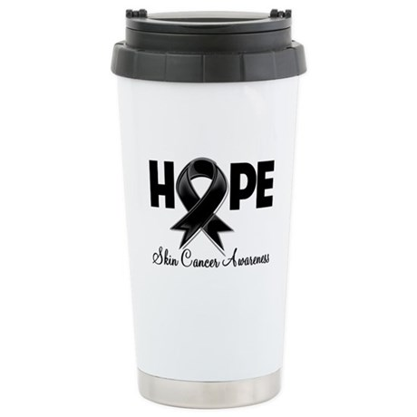 Hope Skin Cancer Ceramic Travel Mug