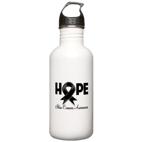 Hope Skin Cancer Stainless Water Bottle 1.0L