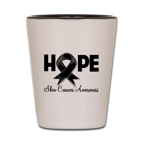 Hope Skin Cancer Shot Glass