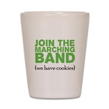Join the Marching Band Shot Glass