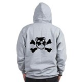 Logo &amp;amp; Skull Duo - Zip Hoody