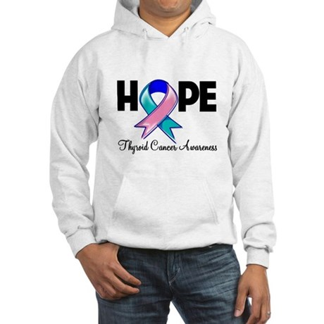 Hope Thyroid Cancer Hooded Sweatshirt