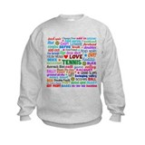 Tennis Terms Jumper Sweater