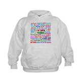 Tennis Terms Hoody