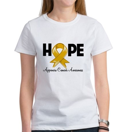 Hope Appendix Cancer Women's T-Shirt