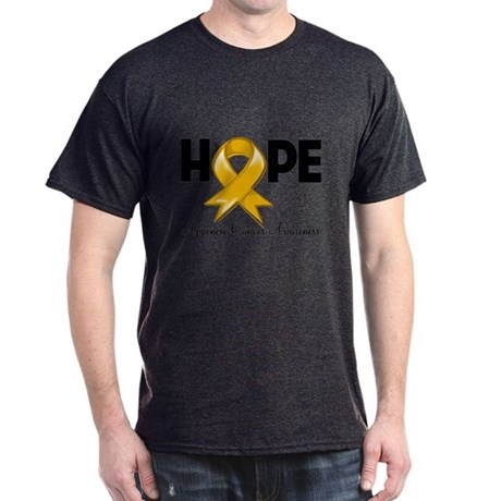 Hope Appendix Cancer Dark T-Shirt
