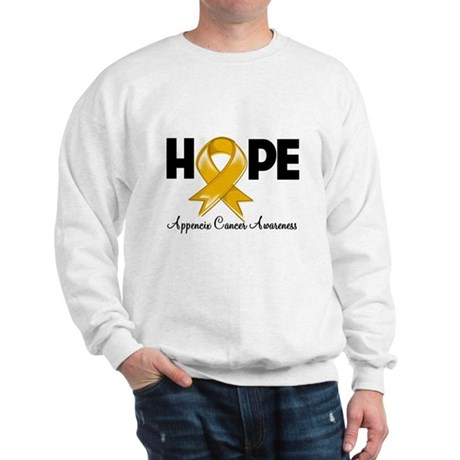 Hope Appendix Cancer Sweatshirt