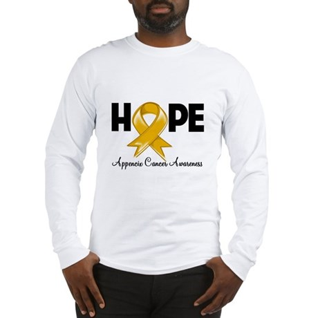 Hope Appendix Cancer Long Sleeve T-Shirt