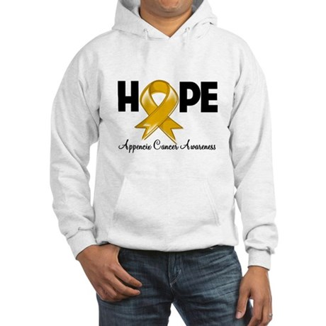 Hope Appendix Cancer Hooded Sweatshirt