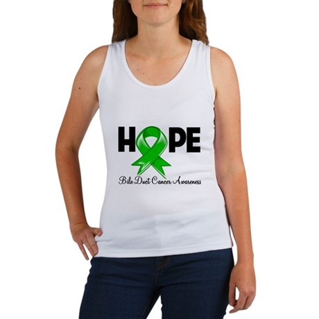 Hope Bile Duct Cancer Women's Tank Top
