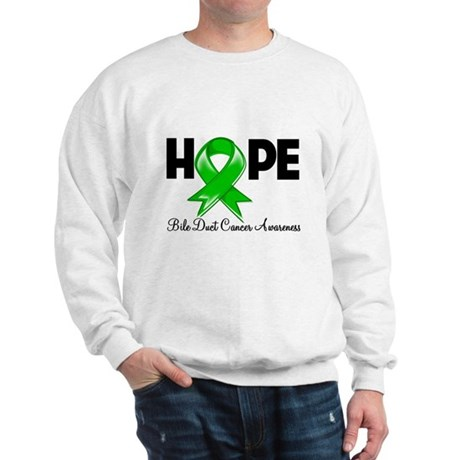 Hope Bile Duct Cancer Sweatshirt