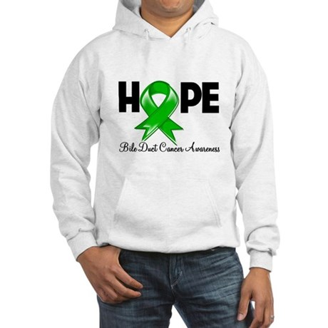 Hope Bile Duct Cancer Hooded Sweatshirt
