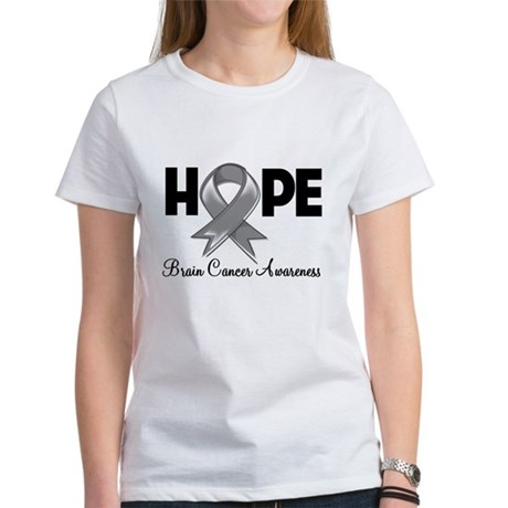 Hope Brain Cancer Women's T-Shirt