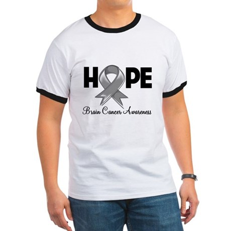 Hope Brain Cancer Ringer T