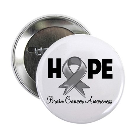 "Hope Brain Cancer 2.25"" Button"