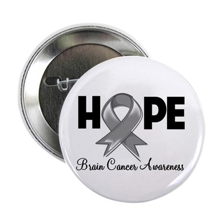 "Hope Brain Cancer 2.25"" Button (10 pack)"
