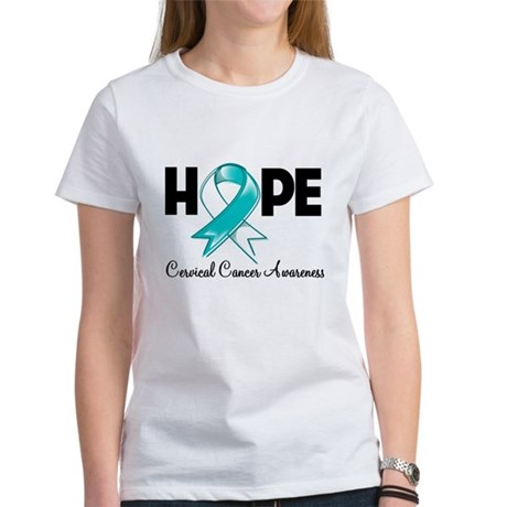 Hope Cervical Cancer Women's T-Shirt