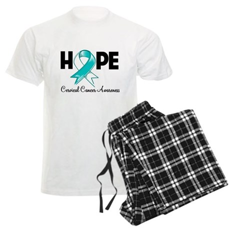 Hope Cervical Cancer Men's Light Pajamas