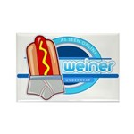 Weiner Underwear - Grey Briefs Rectangle Magnet (10 pack)