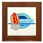 Weiner Underwear - Grey Briefs Framed Tile