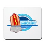 Weiner Underwear - Grey Briefs Mousepad
