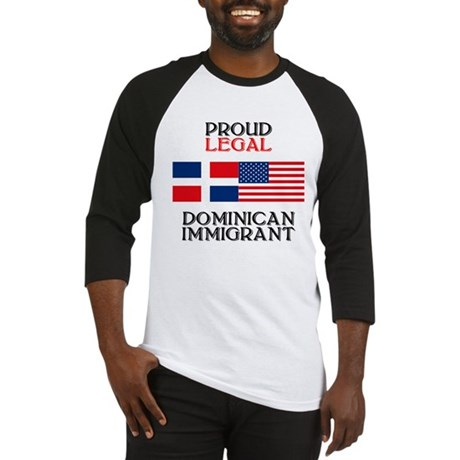 Dominican Immigrant Baseball Jersey