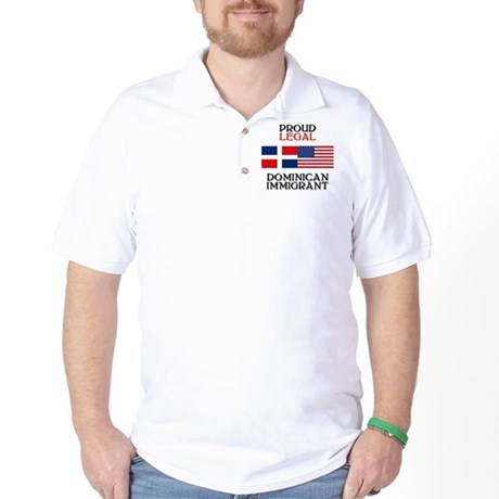 Dominican Immigrant Golf Shirt
