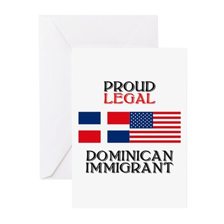 Dominican Immigrant Greeting Cards (Pk of 10)